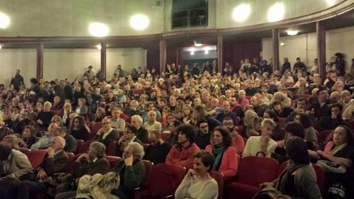 Assemblea sulla Tav al Teatro Astra, Vicenza, 27 aprile 2015